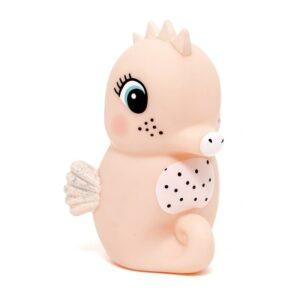petit monkey miekka pastelowa lampka nocna led konik morski brzoskwiniowy 300x300 - Lampka nocna konik morski różowy
