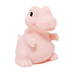 Lampka dziecięca dinozaur T-rex różowy
