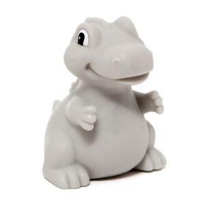 Lampka dziecięca dinozaur T-rex szary