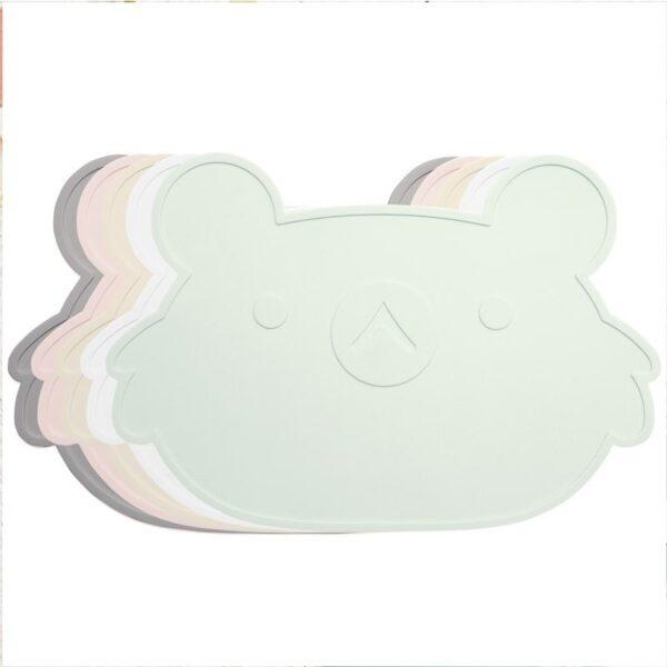 Podkładka pod talerz dla dziecka miętowa