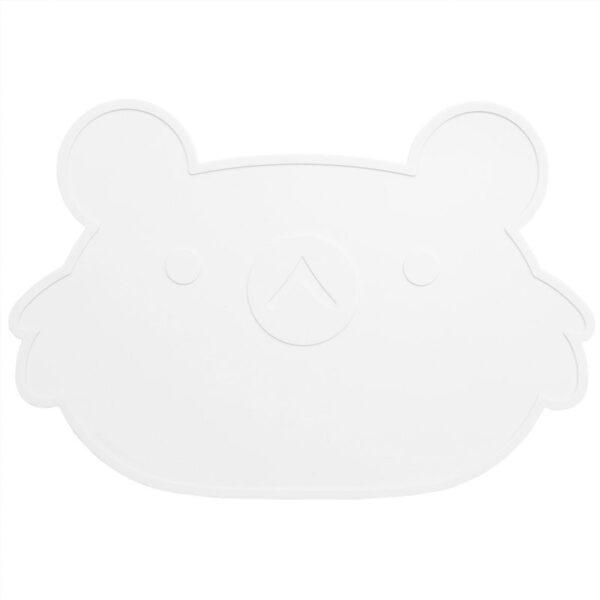 Podkładka pod talerz dla dziecka biała