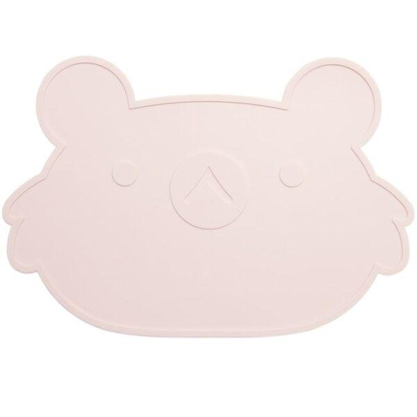 Podkładka pod talerz dla dziecka różowa
