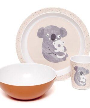 petit monkey transparentny kubek treningowy z ustnikiem koala 2 300x360 - Kubek z ustnikiem dla dzieci Koala