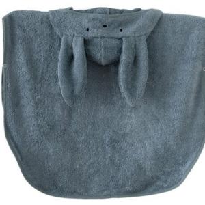 Ręcznik dla dzieci na plażę poncho 0-2 l niebieski