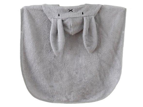 Ręcznik dla dzieci na plażę poncho 0-2 l szary