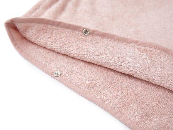 Ręcznik dla dzieci na plażę poncho 0-2 l róż