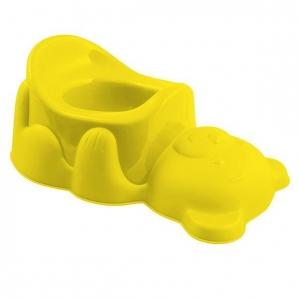 Nocnik dla dzieci żółty miś 12m+
