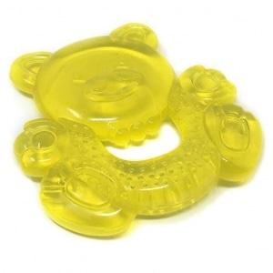 Gryzak chłodzący żółty miś