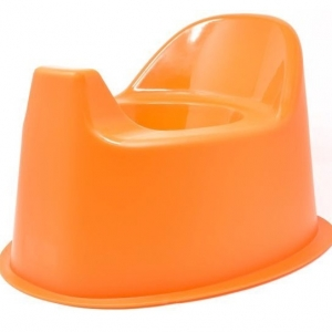 Nocnik dla dzieci pomarańczowy 12m+