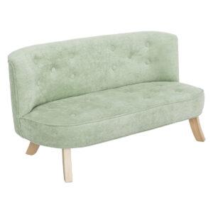 Sofa do pokoju dziecka brudna mięta