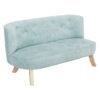 Sofa do pokoju dziecka brudny błękit