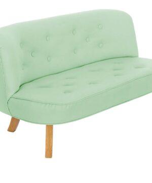 Sofa do pokoju dziecka zielona