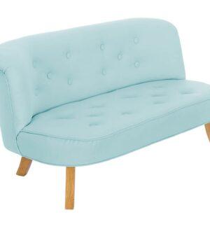Niebieska sofa dla dzieci