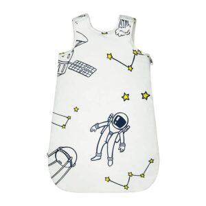 Śpiworek dla niemowląt jasny kosmos