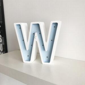 Lampka dekoracyjna literka od a do z