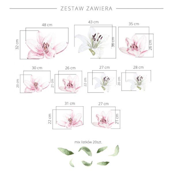 3 max 7 600x600 - Naklejki na ścianę kwiaty małe lilie