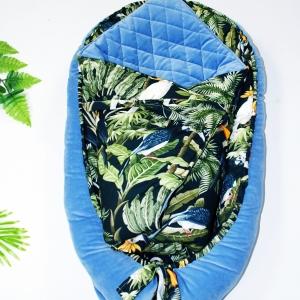 Płaska poduszeczka tropikalna