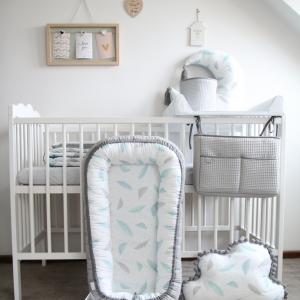 IMG 0866 300x300 - Rożek niemowlęcy minky Plumes