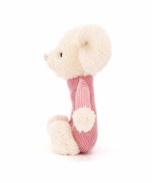 jumble myszka grzechotka 13cm 2 300x360 - Myszka grzechotka Jumble 13 cm
