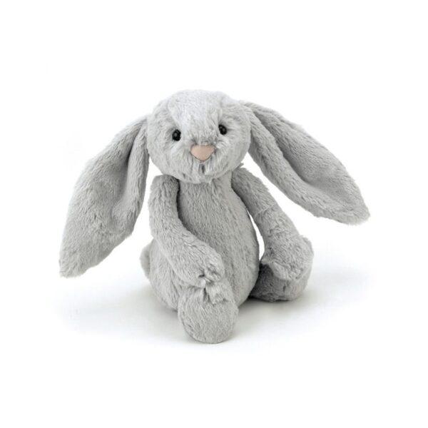Przytulanka królik szary