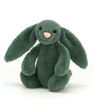 Przytulanka Królik zielony 18 cm