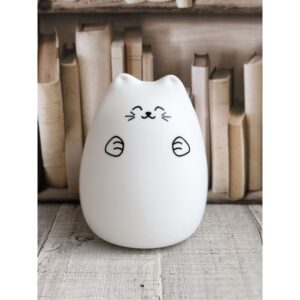 Lampka LED kotek szczęściarz