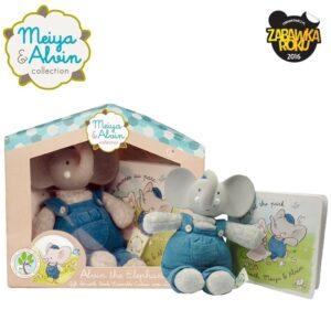 Babyshower Set zestaw słonik Meiya & Alvin