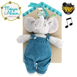 Mięciutka lalka słonik z kołysanką