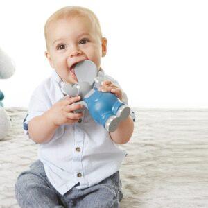 Gryzak organiczny dla niemowląt słonik