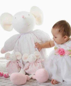 Wielka lalka przytulanka Myszka Meiya