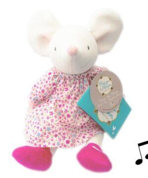 meiya alvin meiya mouse musical lulluby doll with soft head 2 300x360 - Mięciutka lalka myszka z kołysanką