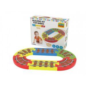 Klocki dla dzieci z pianki małe tory