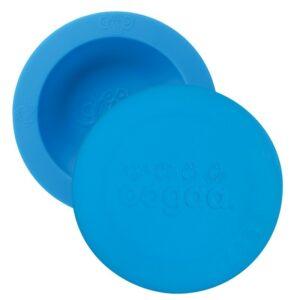Miseczka dla dzieci z pokrywką niebieska