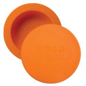Miseczka dla dzieci z pokrywką pomarańczowa