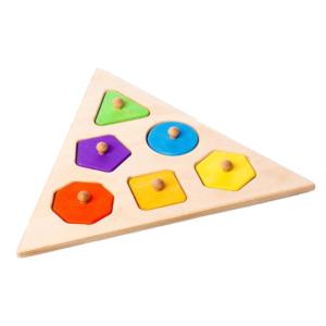 Układanka puzzle drewniane Triangle