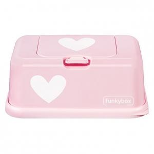 Pudełko na chusteczki pink heart