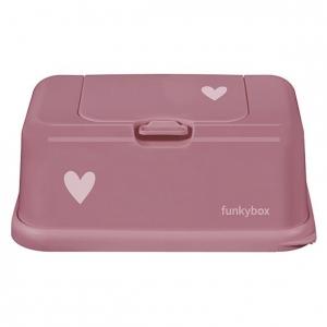 Pojemnik na chusteczki Punch Pink Heart
