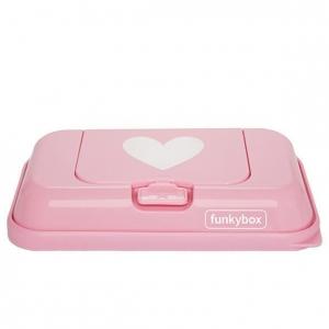 Pojemnik na chusteczki to Go! pink heart