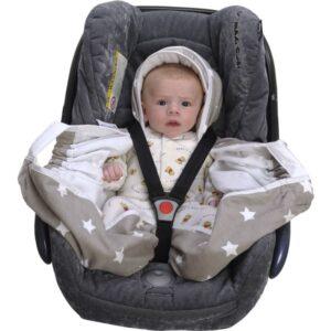 Snugglebundl baby blanket groszki