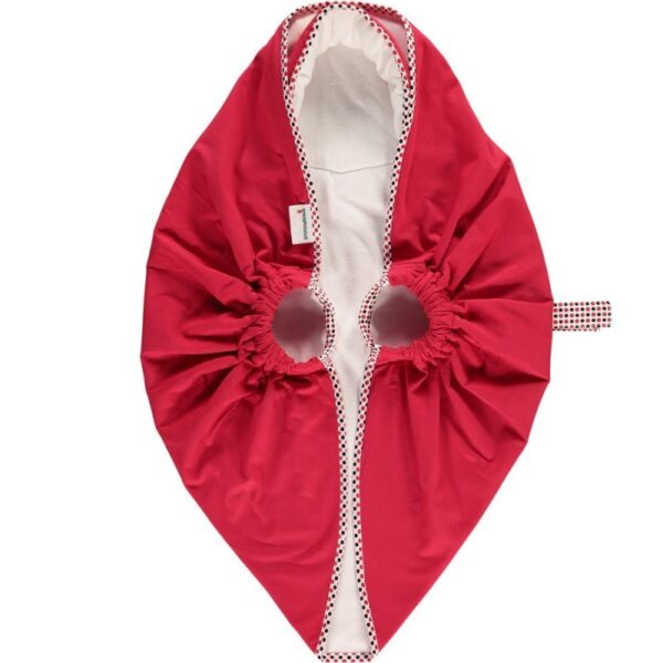 Snugglebundl baby blanket czerwony