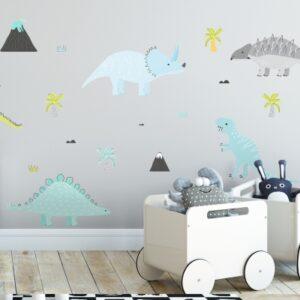 Naklejki na ścianę Dinozaury DK291