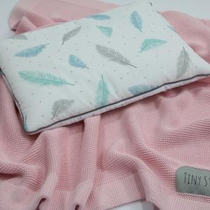 Kocyk bambusowy Baby Pink
