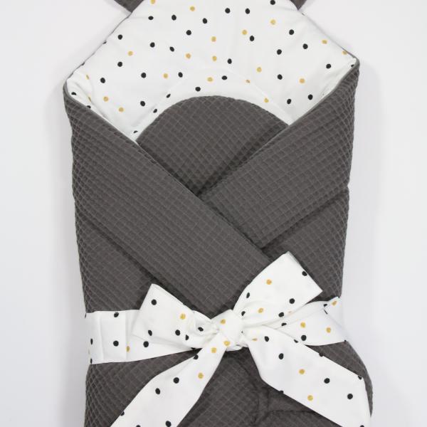 IMG 6958 600x600 - Rożek niemowlęcy Sweet Confetti