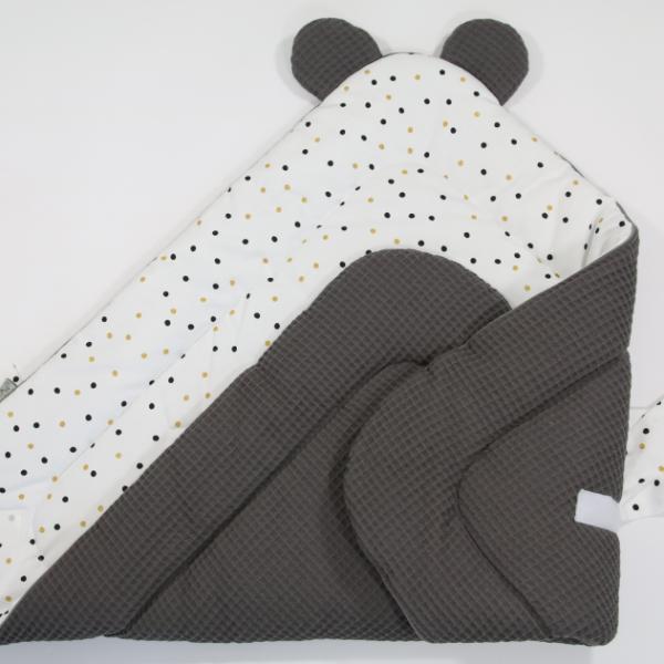 IMG 6992 600x600 - Rożek niemowlęcy Sweet Confetti