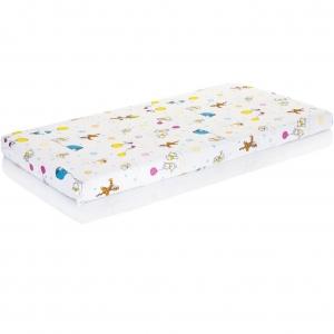 Piankowy materac dla niemowląt