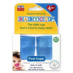 Pierwszy kubek dla dziecka niebieski