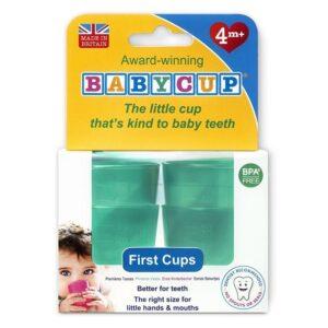 Pierwszy kubek dla dziecka zielony