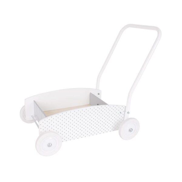 Drewniany chodzik wózek pchacz