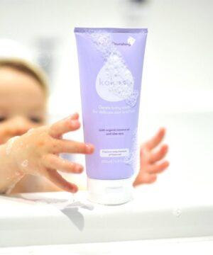 Emulsja do mycia dla niemowlaka