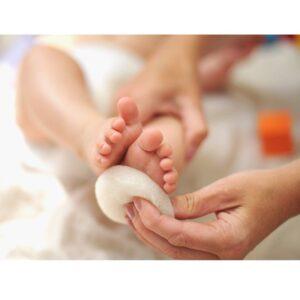Gąbka do kąpieli noworodka